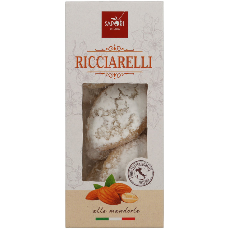 Cookies without Chocolate - Sapori d'Italia Ricciarelli Soft Pastry