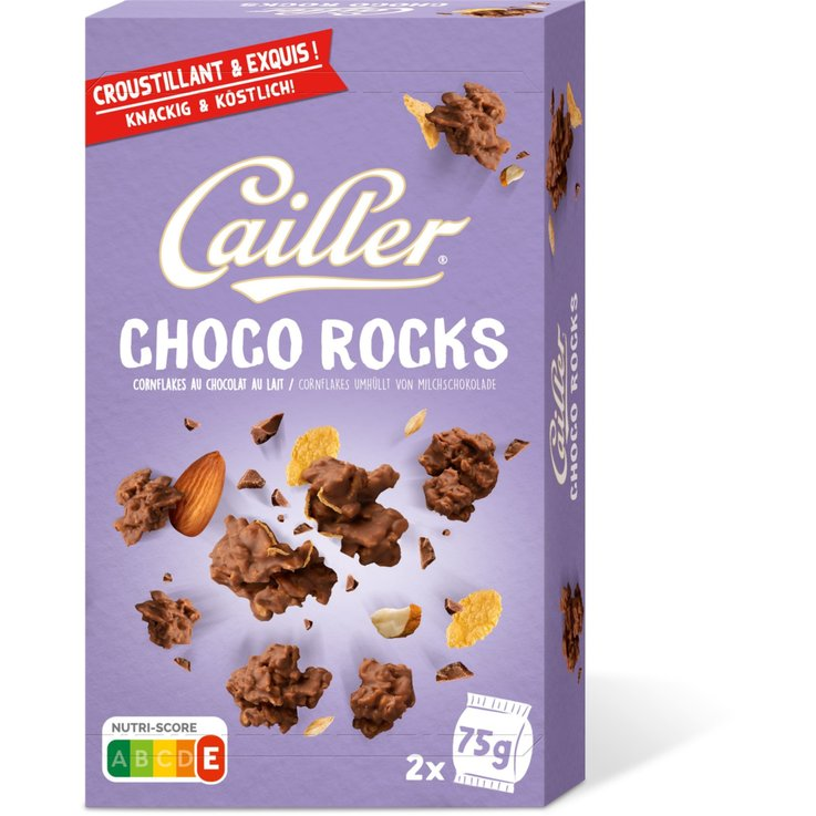 Bars with Chocolate - CAILLER Choco Rocks Milk