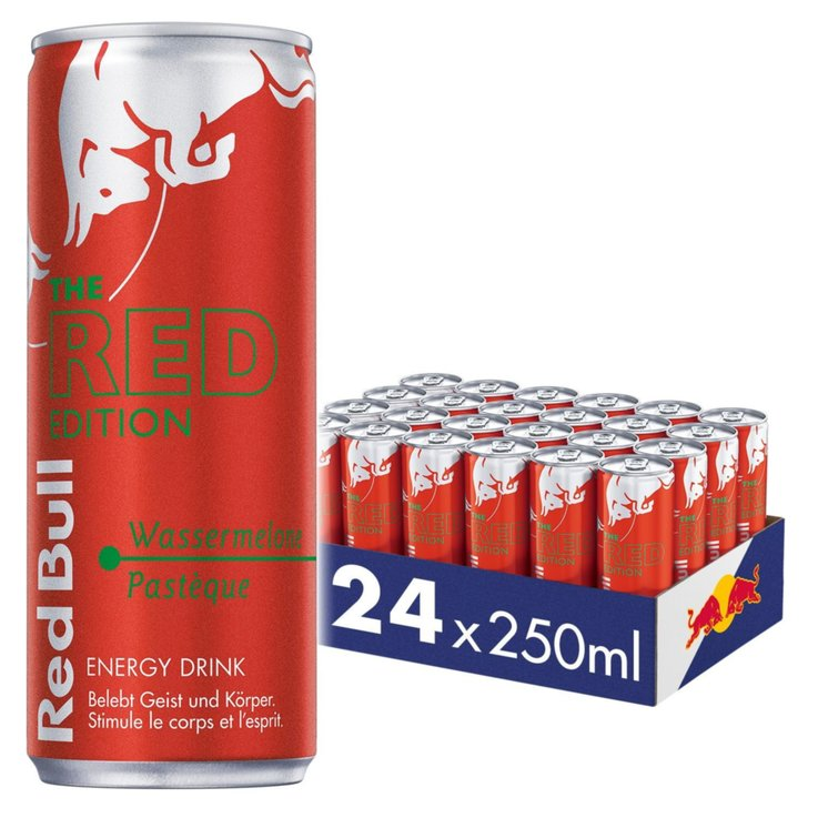 Energy drink - Red Bull Red Edition 6x  25cl