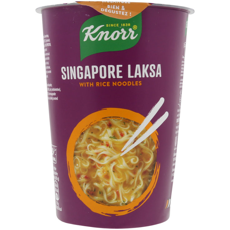 Clear Soup - Knorr Laksa Rice Noodle Snack
