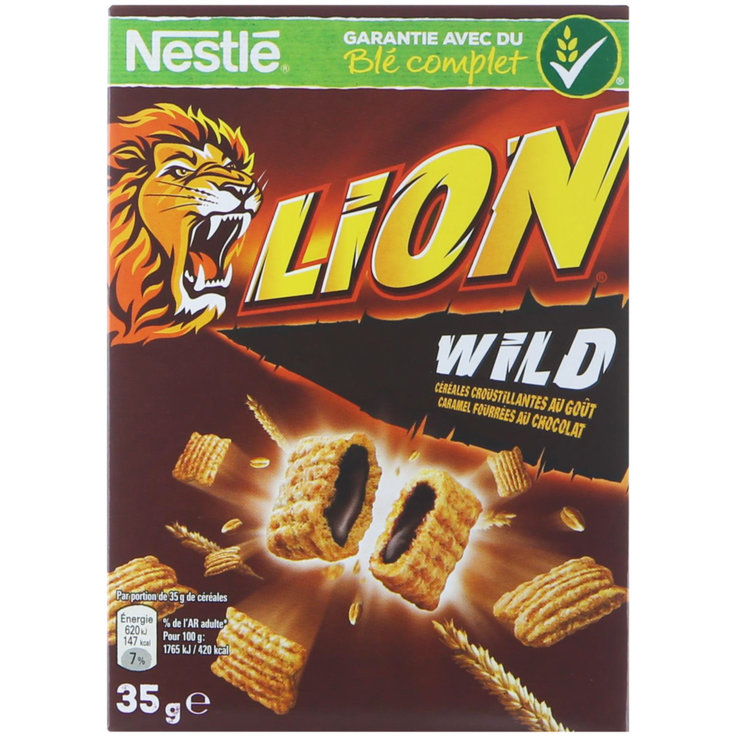 Breakfast Cereals - FREE - Nestlé Lion Wild Crush Cereal