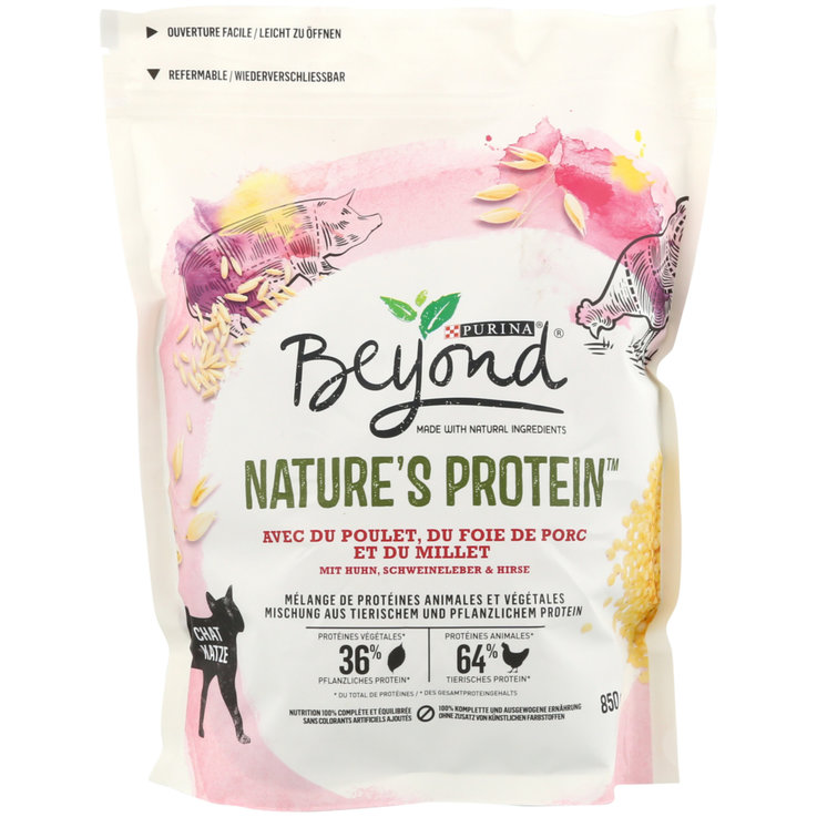 Dry Food - Beyond Nature's protein Chicken & Pork Liver Dry Cat Food for cats