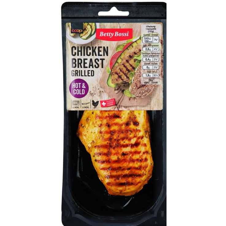 Breaded & Ready-to-Cook - Betty Bossi Chicken Breast Grilled