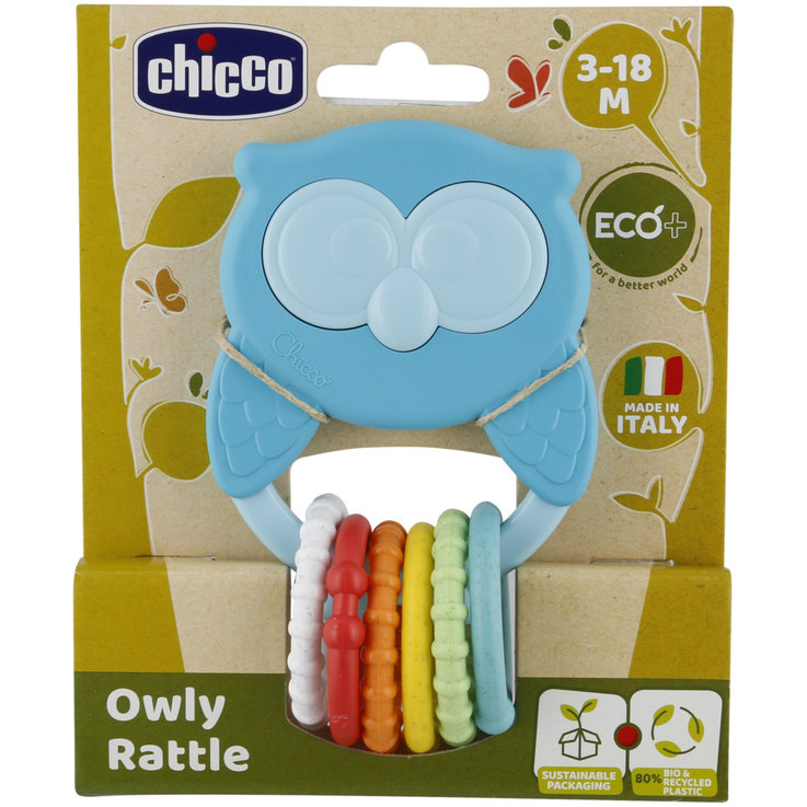 Other Toys - Chicco Eco+ Owl Rattle