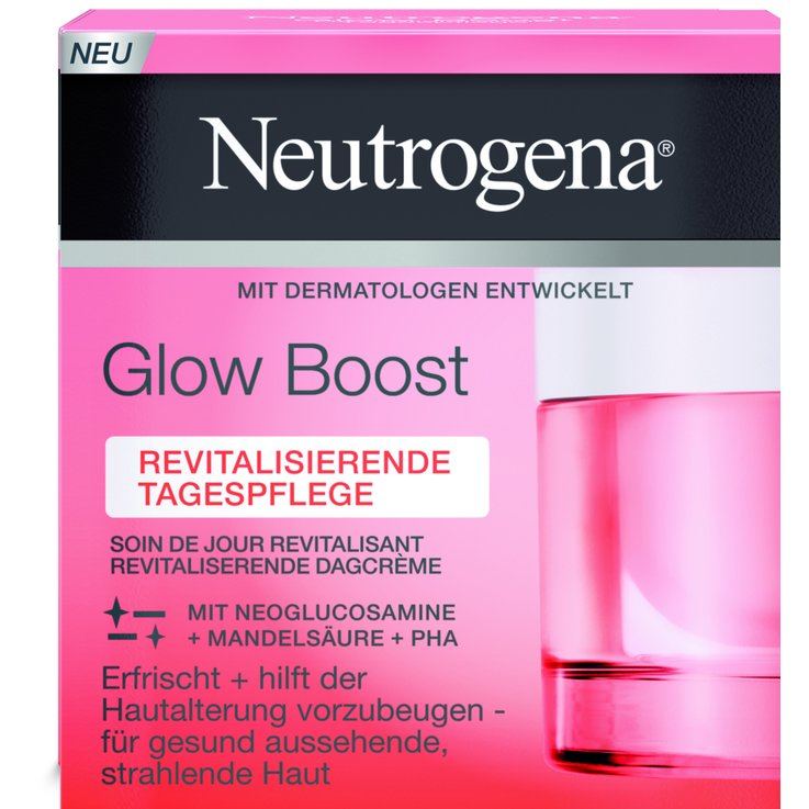 Pelli normali & miste - Neutrogena Glow Boost Day Cream