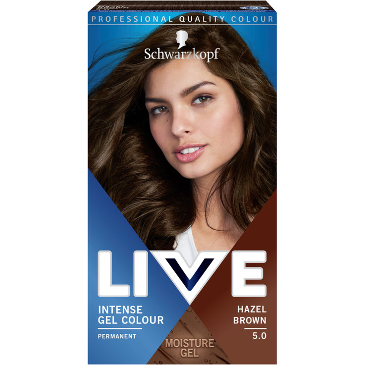 Braun & Schwarz - Live Gel Colour 5.0 Hazel Brown