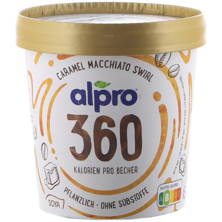 Ice Cream in Tubs - Alpro Caramel Macchiato Ice vegan