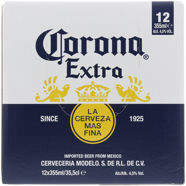Beer Multipacks - Corona Extra Beer 12x35cl