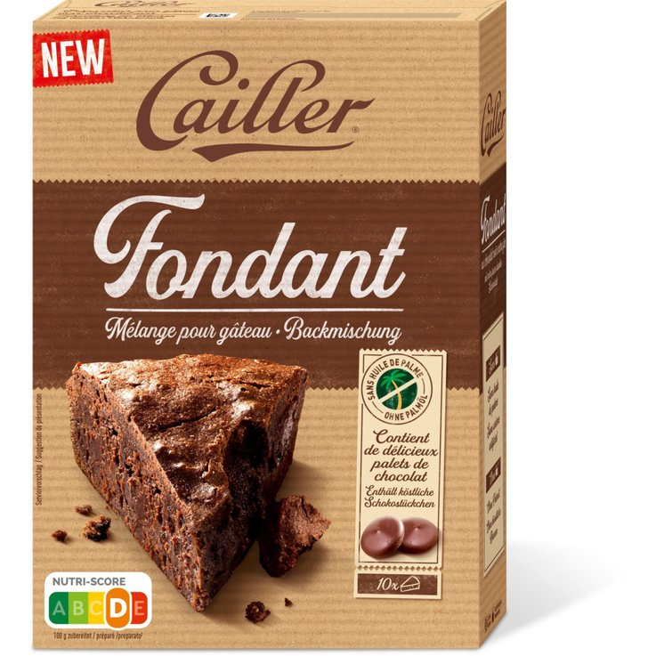 Cooking Chocolate - Cailler Dessert Chocolate Fondant Mix